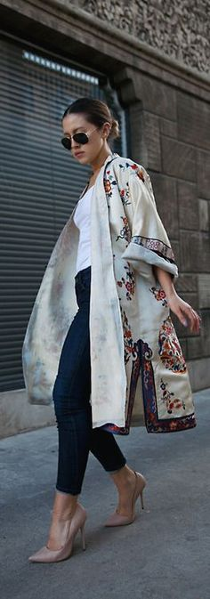 There are a lot of different ways to style a #kimono, from which have selected…
