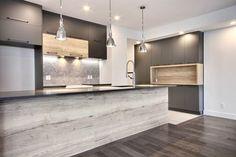 Small Modern Kitchens, Modern Kitchen Design, Contemporary Kitchens, Kitchen Furniture, Kitchen Interior, Kitchen Decor, Small Kitchen Storage, Cuisines Design, Kitchen Remodel