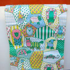 Two Rolls of Vintage 1960s 1970s Children's by ReVampSarahTacoma
