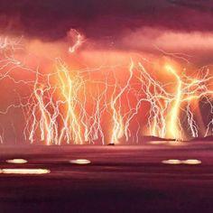 Catatumbo Lightning - 15 Frightening Natural Phenomena