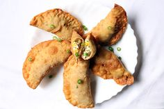 Rissois De Paneer - Cottage Cheese Puffs