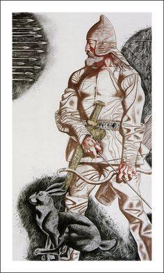Агния, дочь Агнии. Иллюстратор Хамид Савкуев