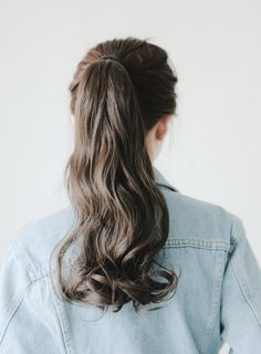 a ponytail you just want to swing back & forth