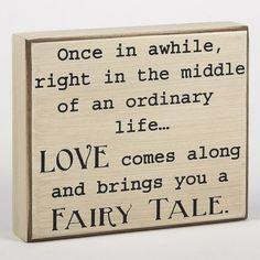 Fairy Tale Box Sign
