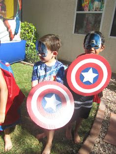 DIY Captain America Shields.