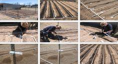 1- INTRODUÇÃO Você tém um jardim ou uma horta e você quer poupar água, tempo e dinheiro para regá-lo? Leia este artigo e veja como construir um sistema de irrigação por gotejamento, bem barato.