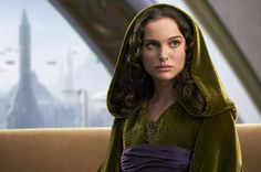 If I could pick one of Padme's costumes to wear myself, it would be this one. I love the gigantic hood and the color.