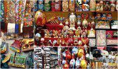 Flea market in St Petersburg, Russia  #fleamarket #shopping #stalls #crafts #russiandolls #souveniers #russian#visitrussia #visitstpetersburg #stpetersburg #babushkatravel #getguideinstpetersburg