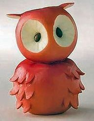 Apple owl -  I just think this is the cutest thing! And so easy to make.