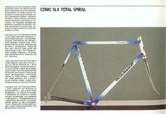 1988 Colnago Catalog // Conic SLX