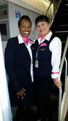 Delta airlines Flight Attendants Oct AMS TO ATL