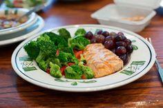 Herb Grilled Salmon - Olive Garden
