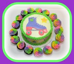 Roller Skate Birthday Party
