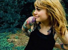blond tattoos