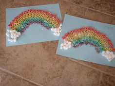 Frootloops Rainbow Craft - God Gives Promise