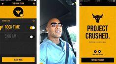 Ator The Rock lança aplicativo motivacional