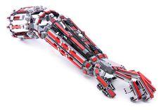 Someone send this man some LEGO so he can make a full-body exoskeleton Lego Robot, Lego Mecha, Lego Bionicle, Robots, Lego Design, Lego Ironman, Exoskeleton Suit, Mecha Suit, Lego Sculptures