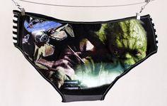 Star Wars Yoda Panties L handmade underwear diy xannabotx