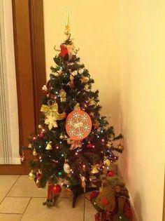 L'albero di Daniele col fiocco di #Natale2014 del www.hotelsansalvador.com