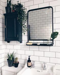small Bathroom Decor Pflanzen im Bad . Bad Inspiration, Bathroom Inspiration, Bathroom Ideas, Bathroom Sinks, Bathroom Inspo, Bathroom Organization, Bathroom Plants, Remodel Bathroom, Bath Ideas