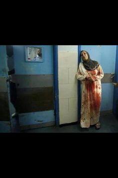 Stop the Israeli massacres in Gaza.