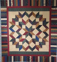Carpenter's Star   Quilt patterns free, Star quilt patterns and ... : carpenters quilt pattern - Adamdwight.com