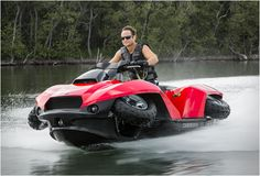 Quadski XL...it does have wheels...no way it can be this much fun on the road!