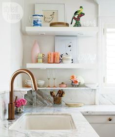 Kitchen Trend Alert: Copper and Marble Apartment Therapy