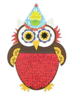 Cakes & Candles Birthday Owl Scrapbook Project Idea