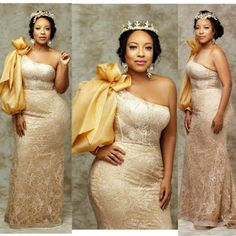 Beautiful African American styles for Matron of honor 2019 African Party Dresses, African Fashion Skirts, African Lace Dresses, African Fashion Designers, African Dresses For Women, African Attire, African Lace Styles, African Style, Evening Dresses For Weddings