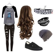"""""""Untitled #7"""" by meckensylou on Polyvore featuring River Island, dELiA*s, Coal and Vans"""