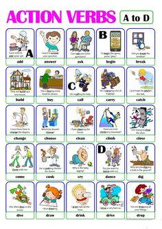 Awesome Action Verbs Worksheet For Grade 1 that you must know, Youre in good company if you?re looking for Action Verbs Worksheet For Grade 1 English Verbs, Kids English, English Lessons, English Vocabulary, English Grammar, Learn English, English Language, Verbs For Kids, Grammar For Kids