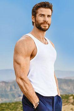 Australian Actors, Liam Hemsworth, Tank Man, Celebrity Crush, Crushes, Mens Tops, Celebrities, Health, Tumblr