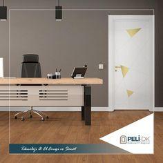 Bunu biliyor muydunuz? Küçük odalı ev ve ofislerde kapı seçimlerinde açık renkleri tercih etmeniz odanızın daha ferah durmasını sağlar. Kapı önerisi; Peli-DK Prismatic PYRAMID