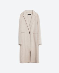 $199 Image 8 of HAND MADE MASCULINE COAT from Zara