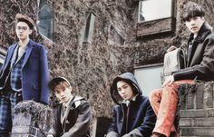 Kyungsoo, Chen, Lay and Kai