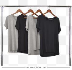 Camisetas básicas. #moda #look #outfit #basic #camiseta #t-shirt #novidade #lançamento #ecommerce #lojaonline #lnl #looknowlook