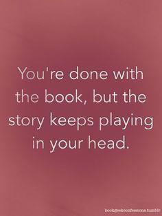Like a literary ear worm.