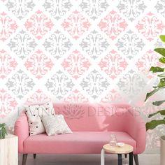 Plantillas para pintar paredes, más accesible que el papel tapiz y los vinilos decorativos. Tu mejor opción en diseño de interiores, ideal para cualquier área del hogar, negocios y locales comerciales.