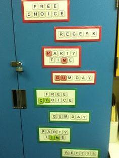 Classroom Management ~ Ten Pin Linky!
