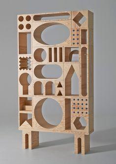 Креативный шкаф-трансформер от Kyuhyung Cho и Erik Olovsson