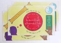 Little Muslimah Activity Placemat
