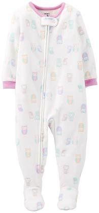 Carter's Fleece Blanket Footie (Baby) - Owl