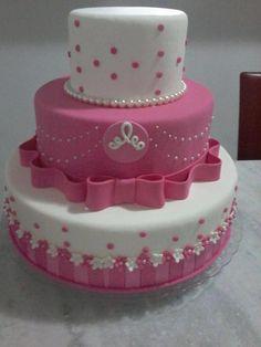 Baby 1st Birthday Cake, Half Birthday Cakes, Barbie Birthday, Bolo Barbie, Barbie Cake, Fancy Cakes, Cute Cakes, Lipstick Cake, Little Girl Cakes