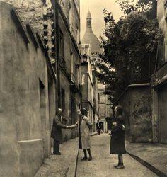 Les voisins de Montmartre, Paris, 1950.