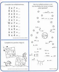 APOYO ESCOLAR ING MASCHWITZT CONTACTO TELEF 011-15-37910372: LAS TABLAS DE MULTIPLICAR (CON ACTIVIDADES) Class 8, Math Class, Dyslexia Activities, School Frame, Multiplication And Division, Prepositions, Professor, School Projects, Second Grade