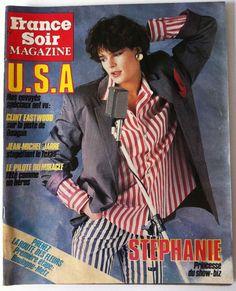 France Soir Magazine du 12/04/1986; Stéphanie De Monaco