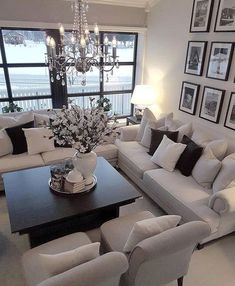 56 cozy small living room decor ideas for your apartment. 56 cozy small living room decor ideas for your apartment. 56 cozy small living room decor ideas for your apartment Elegant Living Room, Small Living Rooms, Living Room Designs, Modern Living, Pictures Of Living Rooms, Living Room Ideas Black And White, Simple Living, Luxury Living, Contemporary Living Room Decor Ideas