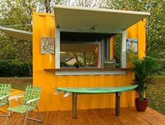Rob puts the finishing touches on his ultimate backyard getaway, a beach-themed BBQ shack.