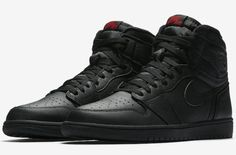 The Air Jordan 1 Goes Triple Black